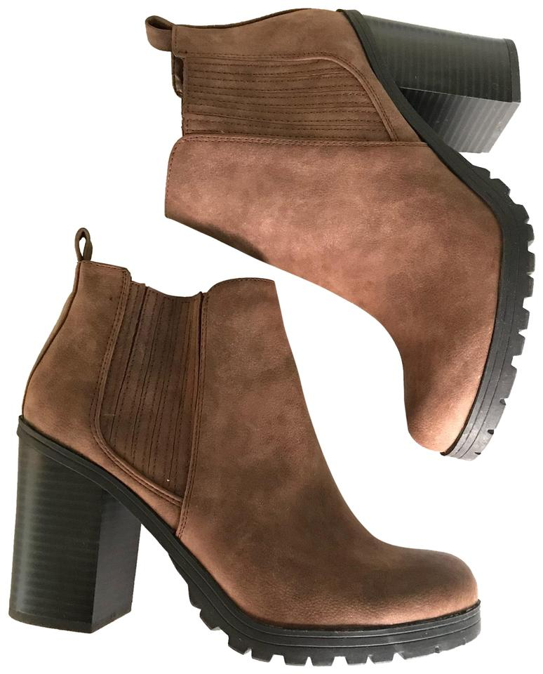 3f62d2a379 Sam & Libby Black and Brown - Deanna Heeled Boots/Booties Size US 7 ...