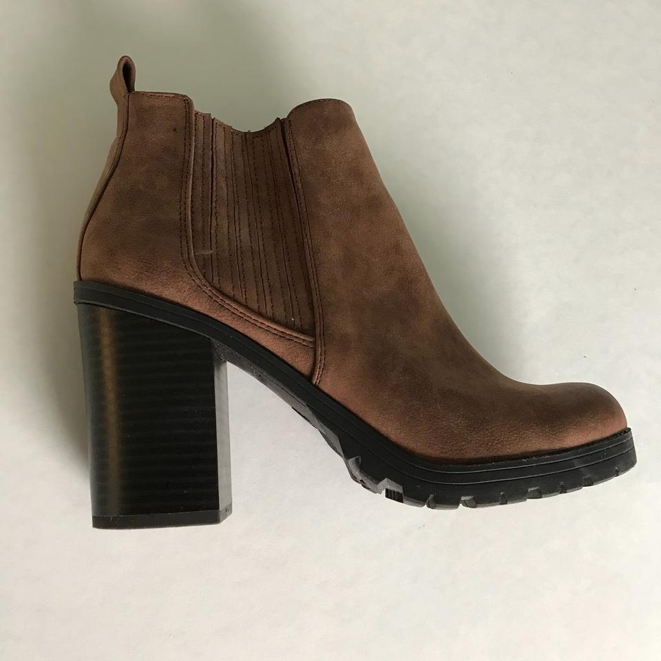 019301f314a Sam & Libby Black and Brown - Deanna Heeled Boots/Booties Size US 7 Regular  (M, B) 34% off retail