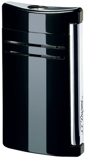 S.T. Dupont S.T. DUPONT MAXIJET BLACK GLOSS TORCH FLAME LIGHTER 20104N
