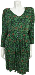 ISSA London short dress Green Paisley Size 10 on Tradesy