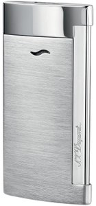 S.T. Dupont S.T. DUPONT SLIM 7 LIGHTER, BRUSHED CHROME FINISH, 27701