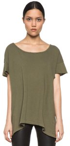 Current/Elliott Oversize Army Casual T Shirt Green