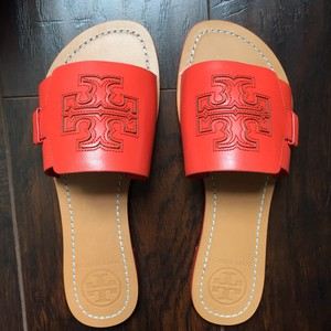 Tory Burch poppy red Sandals Image 0