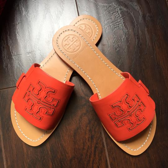 Tory Burch poppy red Sandals Image 1
