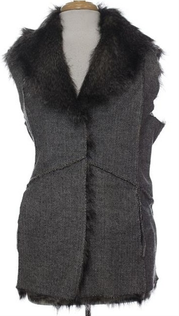 Jeffrey Banks Tweed Reversible Vest