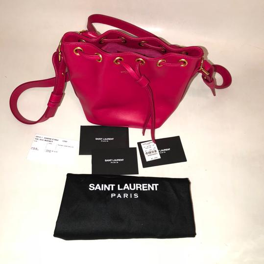 Saint Laurent Ysl Bucket Shoulder Bag