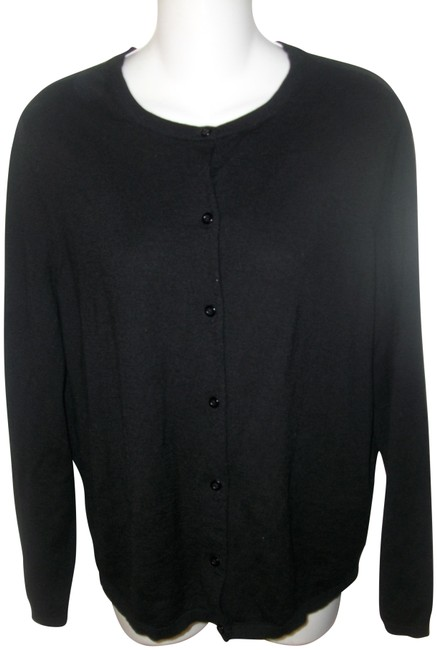 Preload https://img-static.tradesy.com/item/22602054/pendleton-black-scoop-neck-merino-wool-cardigan-size-12-l-0-1-650-650.jpg