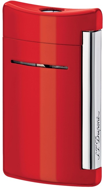 S.T. Dupont Red Minijet Fiery Torch Flame Lighter 10029 S.T. Dupont Red Minijet Fiery Torch Flame Lighter 10029 Image 1