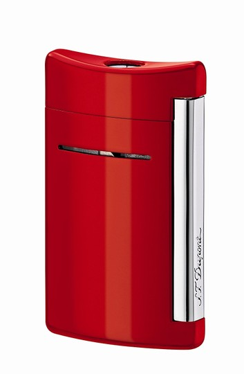 S.T. Dupont S.T. DUPONT MINIJET FIERY RED TORCH FLAME LIGHTER 10029