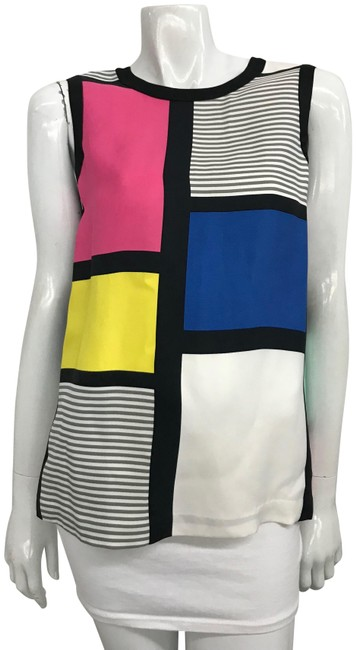 Preload https://img-static.tradesy.com/item/22602094/kate-spade-multi-color-geometric-printed-tank-topcami-size-6-s-0-1-650-650.jpg