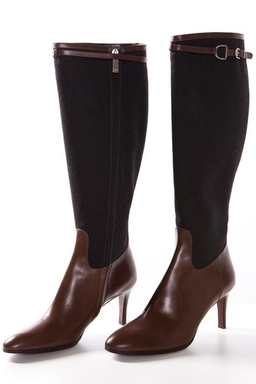 Ralph Lauren Collection Grey & Brown Boots