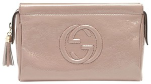 Gucci Soho Cosmetic 338191 Light Pink Clutch