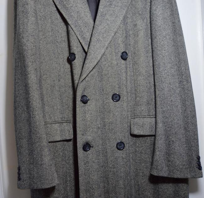 Burberry Men's London Vintage Pure Wool Trench Coat