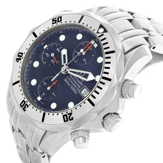 Omega Omega Seamaster Chronograph Mens Watch 2598.80.00 Box Papers