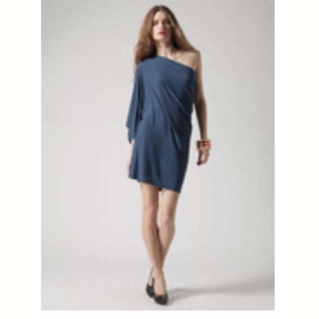 Preload https://img-static.tradesy.com/item/22602579/riller-and-fount-teal-one-shoulder-kimono-short-night-out-dress-size-6-s-0-0-650-650.jpg