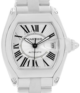 Cartier Cartier Roadster Large Silver Dial Automatic Steel Mens Watch W62025V3
