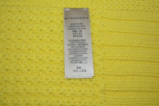 Burberry NWT BURBERRY $750 100% CASHMERE LARGE WAFFLE KNITTED SCARF WRAP
