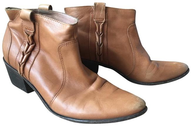 Joie Tan Leather Ankle Boots/Booties Size EU 37.5 (Approx. US 7.5) Regular (M, B) Joie Tan Leather Ankle Boots/Booties Size EU 37.5 (Approx. US 7.5) Regular (M, B) Image 1