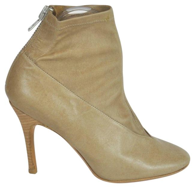 Maison Margiela Beige Brown Leather Round-toe Boots/Booties Size EU 39 (Approx. US 9) Regular (M, B) Maison Margiela Beige Brown Leather Round-toe Boots/Booties Size EU 39 (Approx. US 9) Regular (M, B) Image 1
