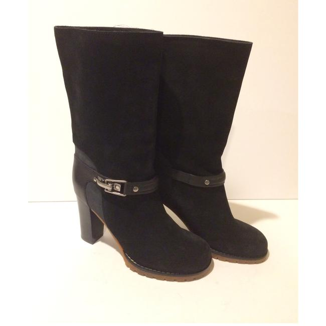 See by Chloé Black New Buckle Mid Calf Suede Leather Boots/Booties Size EU 36 (Approx. US 6) Regular (M, B) See by Chloé Black New Buckle Mid Calf Suede Leather Boots/Booties Size EU 36 (Approx. US 6) Regular (M, B) Image 1