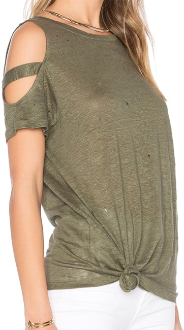 Preload https://img-static.tradesy.com/item/22603000/generation-love-olivearmy-greenkhaki-kendall-holes-in-tee-shirt-size-4-s-0-1-650-650.jpg