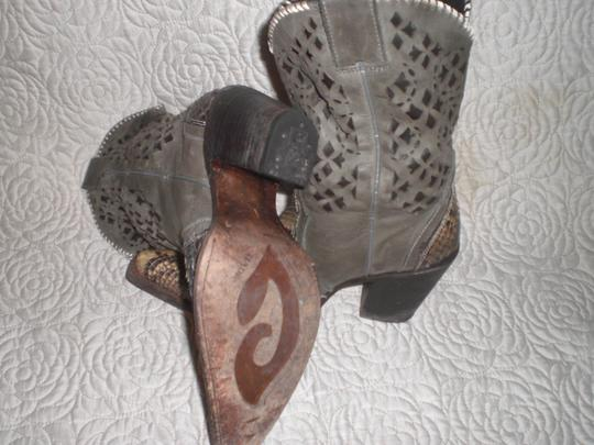 CUADRA Leather gray Boots Image 10