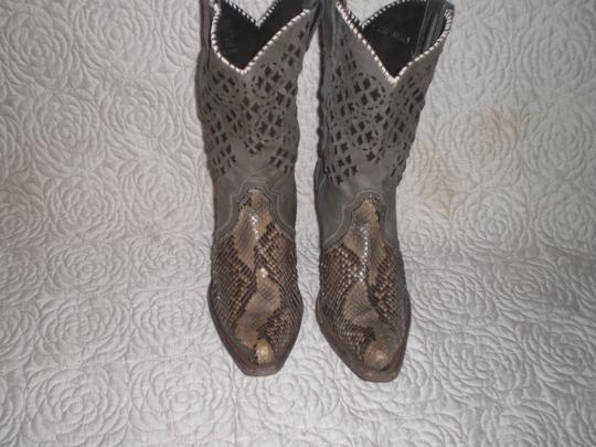 CUADRA Leather gray Boots Image 11