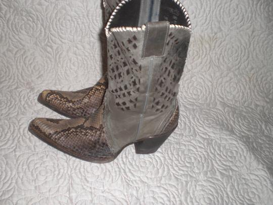CUADRA Leather gray Boots Image 4