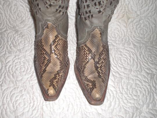 CUADRA Leather gray Boots Image 5