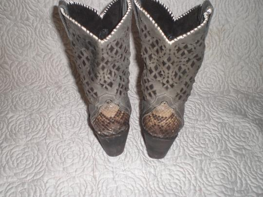 CUADRA Leather gray Boots Image 7
