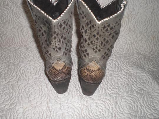 CUADRA Leather gray Boots Image 8