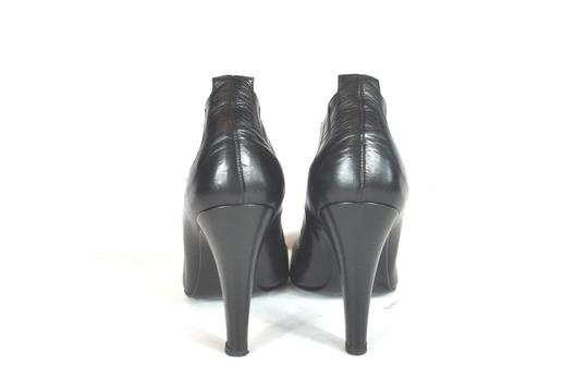 Chanel Round Black Boots Image 8
