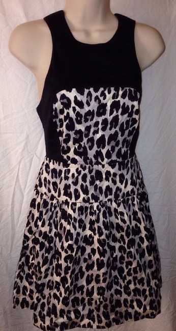 French Connection Fcuk Juniors Animal Print Dress