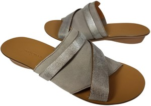 Paul Green gray/ silver metallic Sandals