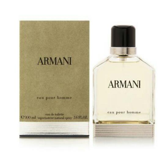 Giorgio Armani ARMANI EAU POUR HOMME FOR MEN-EDT-100 ML-MADE IN FRANCE Image 1