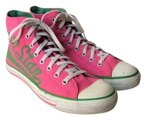 Converse High Tops All Star Chuck Taylor Pink Athletic