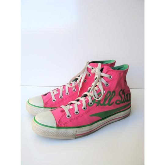 Converse High Tops All Star Chuck Taylor Pink Athletic Image 1