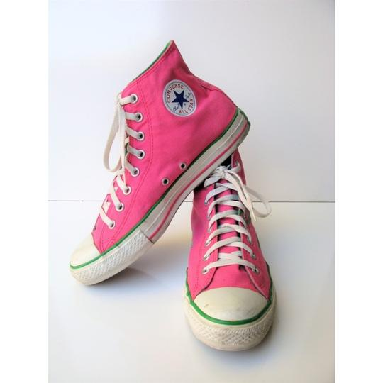 Converse High Tops All Star Chuck Taylor Pink Athletic Image 2