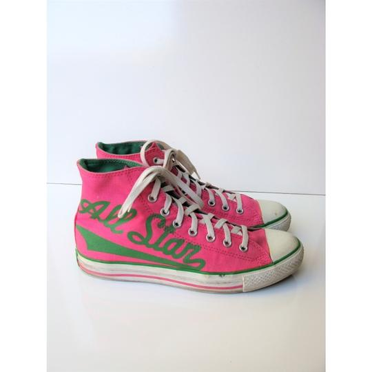 Converse High Tops All Star Chuck Taylor Pink Athletic Image 3