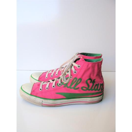 Converse High Tops All Star Chuck Taylor Pink Athletic Image 4