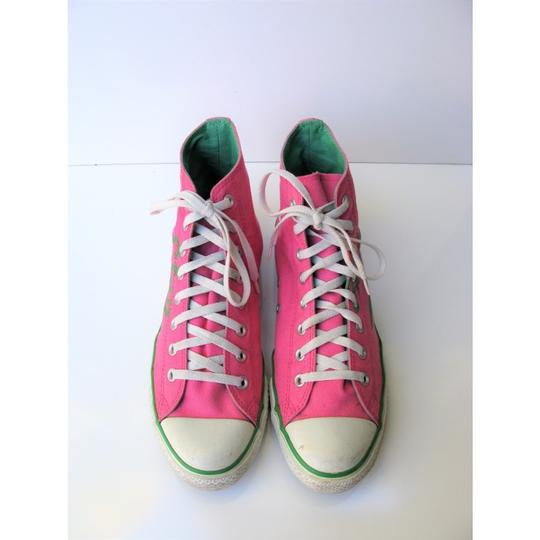Converse High Tops All Star Chuck Taylor Pink Athletic Image 5
