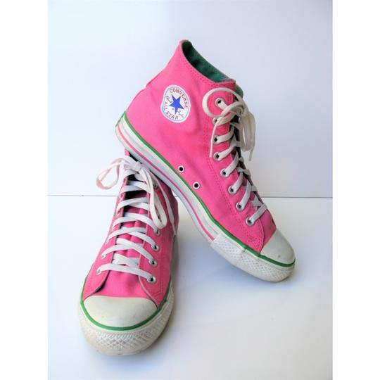 Converse High Tops All Star Chuck Taylor Pink Athletic Image 6