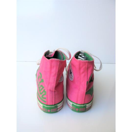 Converse High Tops All Star Chuck Taylor Pink Athletic Image 7