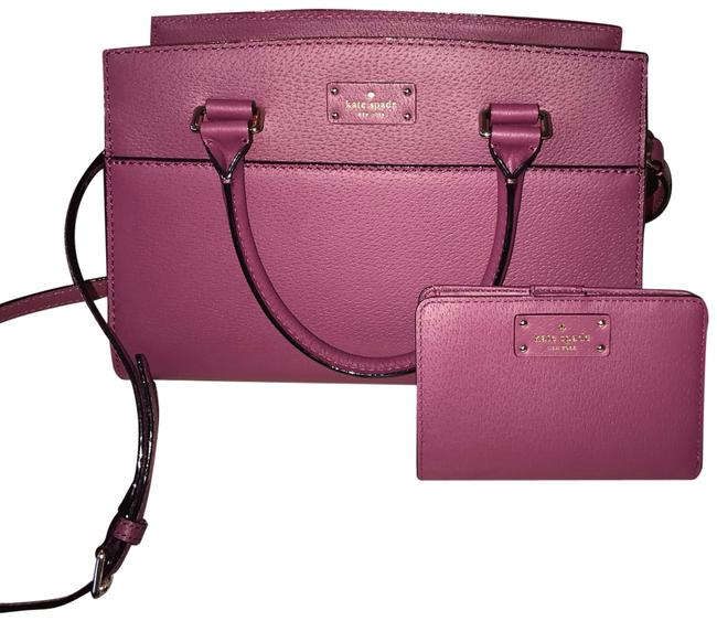 Kate Spade Caley & Wallet Burgundy Leather Shoulder Bag Kate Spade Caley & Wallet Burgundy Leather Shoulder Bag Image 1