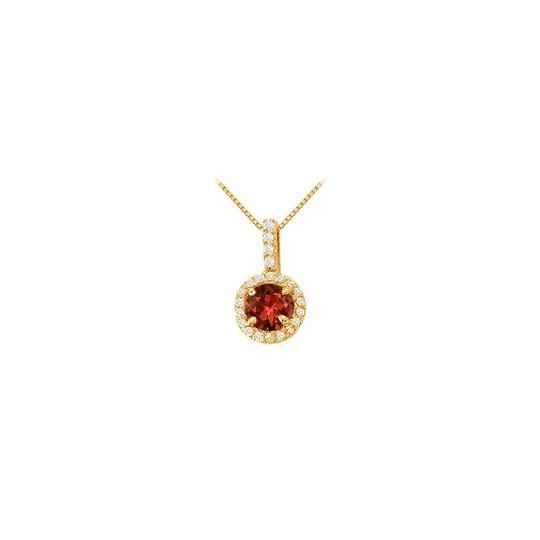 Preload https://img-static.tradesy.com/item/22603804/red-yellow-round-garnet-and-cubic-zirconia-fashion-halo-pendant-necklace-0-0-540-540.jpg