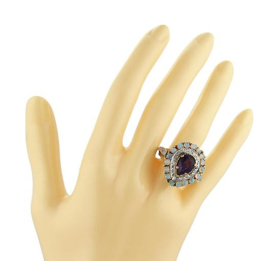 Other Diamond Amethyst & Opal Pear Shape 14k Gold Ring Image 1