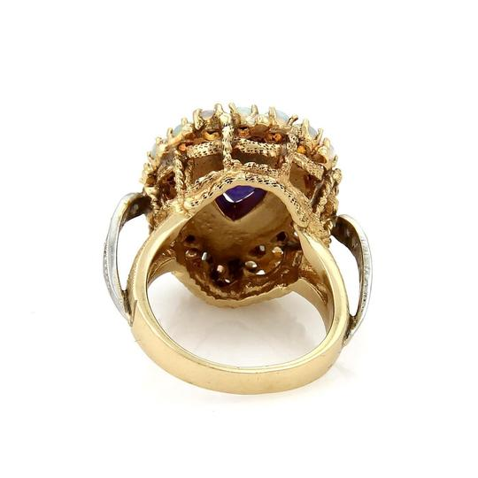 Other Diamond Amethyst & Opal Pear Shape 14k Gold Ring Image 2