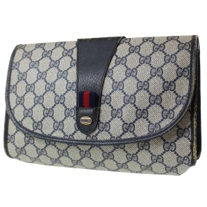 fc8e4e518e8e88 Gucci Cosmetic Bag/Clutch Great For Travel Early Vintage G.a.c. Dressy Or  Casual Excellent Vintage