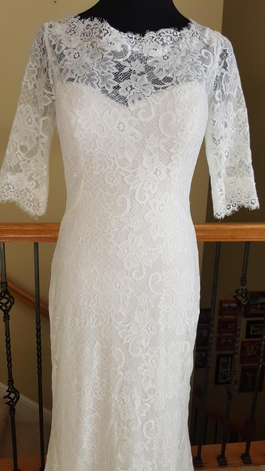 Maggie sottero antique ivory mckenzie dress size 8 m for Maggie sottero mckenzie wedding dress