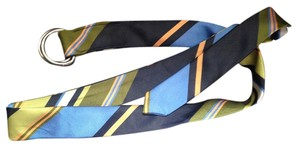 J.Crew J. Crew Multi-Color Silk Tie Belt (M/L)